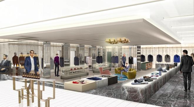 Harvey Nichols To Relaunch Menswear In Knightsbridge