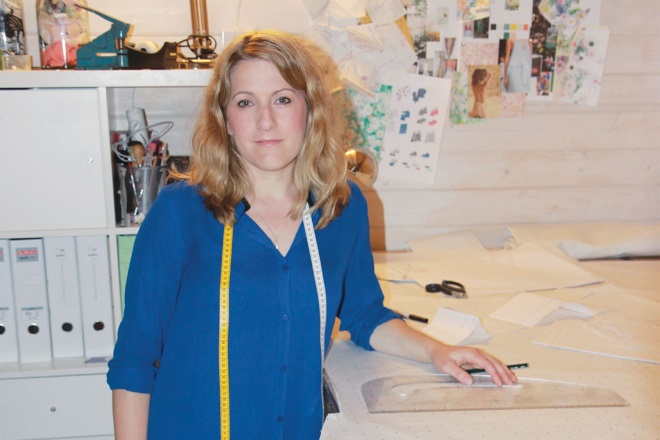 How I Got Here Helen Pollington Freelance Pattern Cutter And Co Founder Of Violet Wren