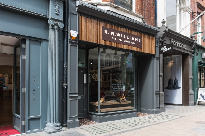 RM Williams sees 'enormous' growth
