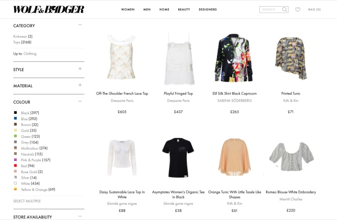 All Categories :: Clothing :: TOPS